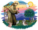 St. Francis #2 &<br> Shih Tzu (#8)