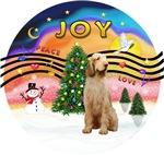 CHRISTMAS MUSIC #2<br>Wheaten Italian Spinone #12