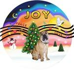 CHRISTMAS MUSIC #2<br>Chinese Shar Pei (#5)