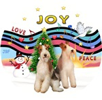CHRISTMAS MUSIC #1<br>Two Wire Fox Terriers