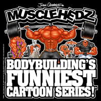 Bodybuilding's FUNNIEST Cartoon Series