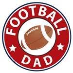 Football Dad T-shirts and Gifts