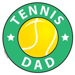 Tennis Dad Fathers Day T-shirts and Gifts