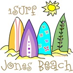 Jones Beach Surfer Shirts and Gifts