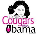 Cougars for Obama T-shirts, Tank Tops, Apparel