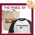 Fire Island Pines T-shirts, The Pines Souvenirs