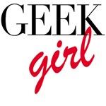 Geek Girl Tshirts, Tees, Gifts