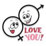 Love You Valentines T-shirts and Gifts