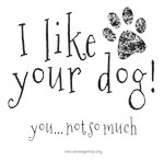 I like your dog!