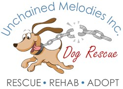 Unchained Melodies Dog Rescue Logo Merchandise