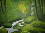 Stream With Green