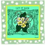 OYOOS Let it Rain: Flower design