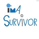 OYOOS I'm A Survivor design (blue)