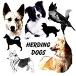 Herding Dog Art by Madeline Wilson