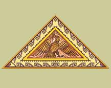 Golden Aztec Eagle