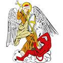 St. Michael defeating Satan
