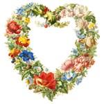 Floral Wreath by Herman Henstenburgh