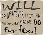 Homeless Philosophy Major Sign