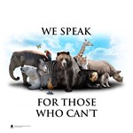 We Speak for Those Who Can't