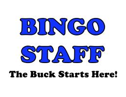 Bingo Staff Blue