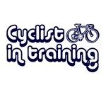 CYCLIST IN TRAINING SHIRT TEE SHIRT BICYCLE GIFT