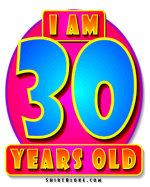 30th Birthday Gear & Gifts