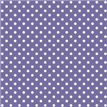 Purple With White Polka-dots