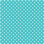 Blue With White Polka-dots