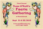 Official 2012 Faerie Gathering Merchandise