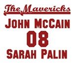 McCain Palin Mavericks Team Jersey Collection