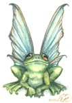 Fairy Frog Prints, Posters, etc.