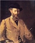 Self Portrait with Palette 1879
