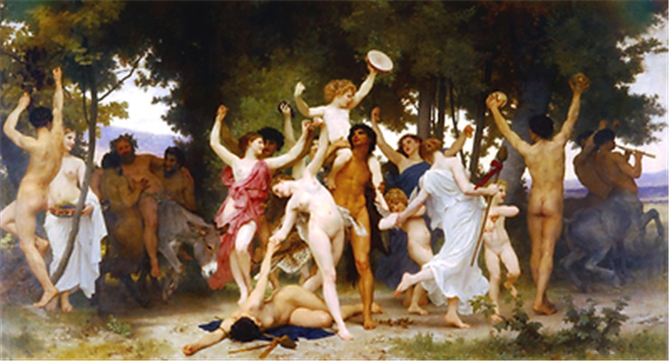 Bouguereau - The Youth of Bacchus