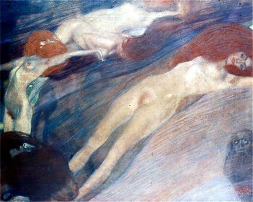 Klimt - Moving Water