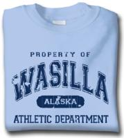 Property of Wasilla Athletic Department