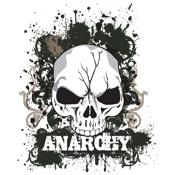 Over 40 Grimm Apparel Anarchy Skull T-Shirts