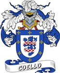 Coello Coat of Arms, Family Crest