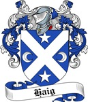 Haig Family Crest, Coat of Arms