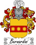 Bernardini Family Crest, Coat of Arms