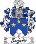 Bonfadini Family Crest, Coat of Arms