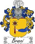 Bracci Family Crest, Coat of Arms