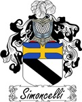 Simoncelli Family Crest, Coat of Arms