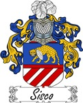 Sisco Family Crest, Coat of Arms