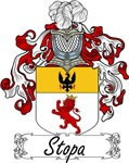 Stopa Family Crest, Coat of Arms