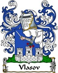 Vlasov Family Crest, Coat of Arms