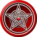 Red Pentacle w/inlay
