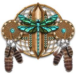 Labradorite Dragonfly Dreamcatcher