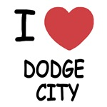 I heart dodge city