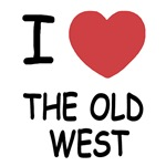 I heart the old west