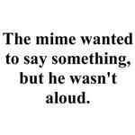 a mime joke